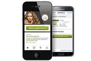 app f r ihre kunden kalender dienstplan online termine f r ihren salon. Black Bedroom Furniture Sets. Home Design Ideas