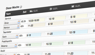 Belbo Diensplan