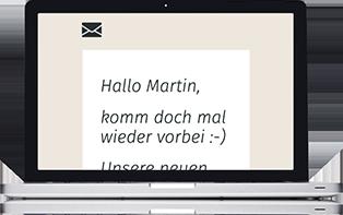 Automatische Mails mit Belbo schicken