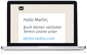 E-Mail Marketing Online Terminbuchung