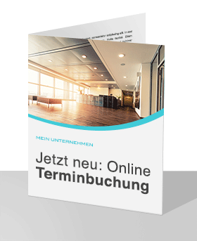 Print Marketing Online Terminbuchung