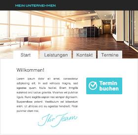 Website Online Terminbuchung